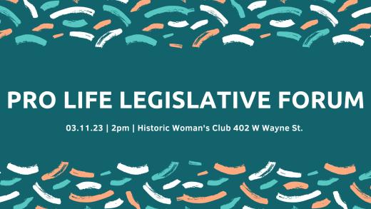19th Annual Pro-Life Legislative Forum