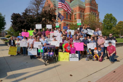 March for Life in Noble County