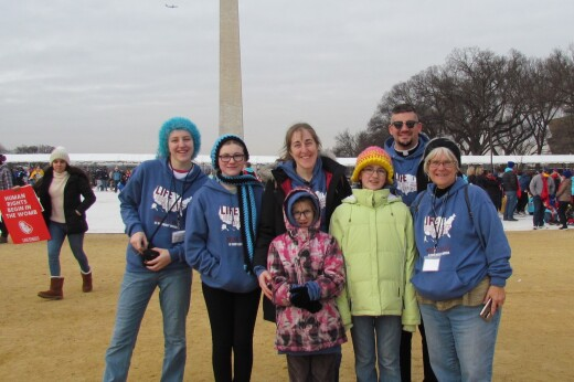 Family Trip to the National March for Life